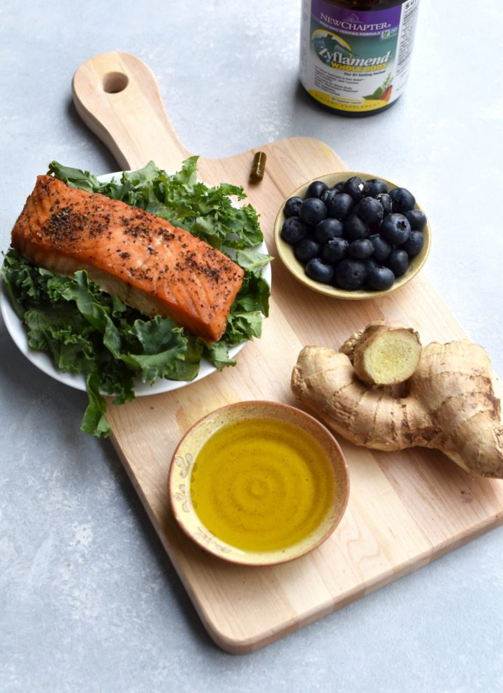 fighting inflammation through food // cait's plate