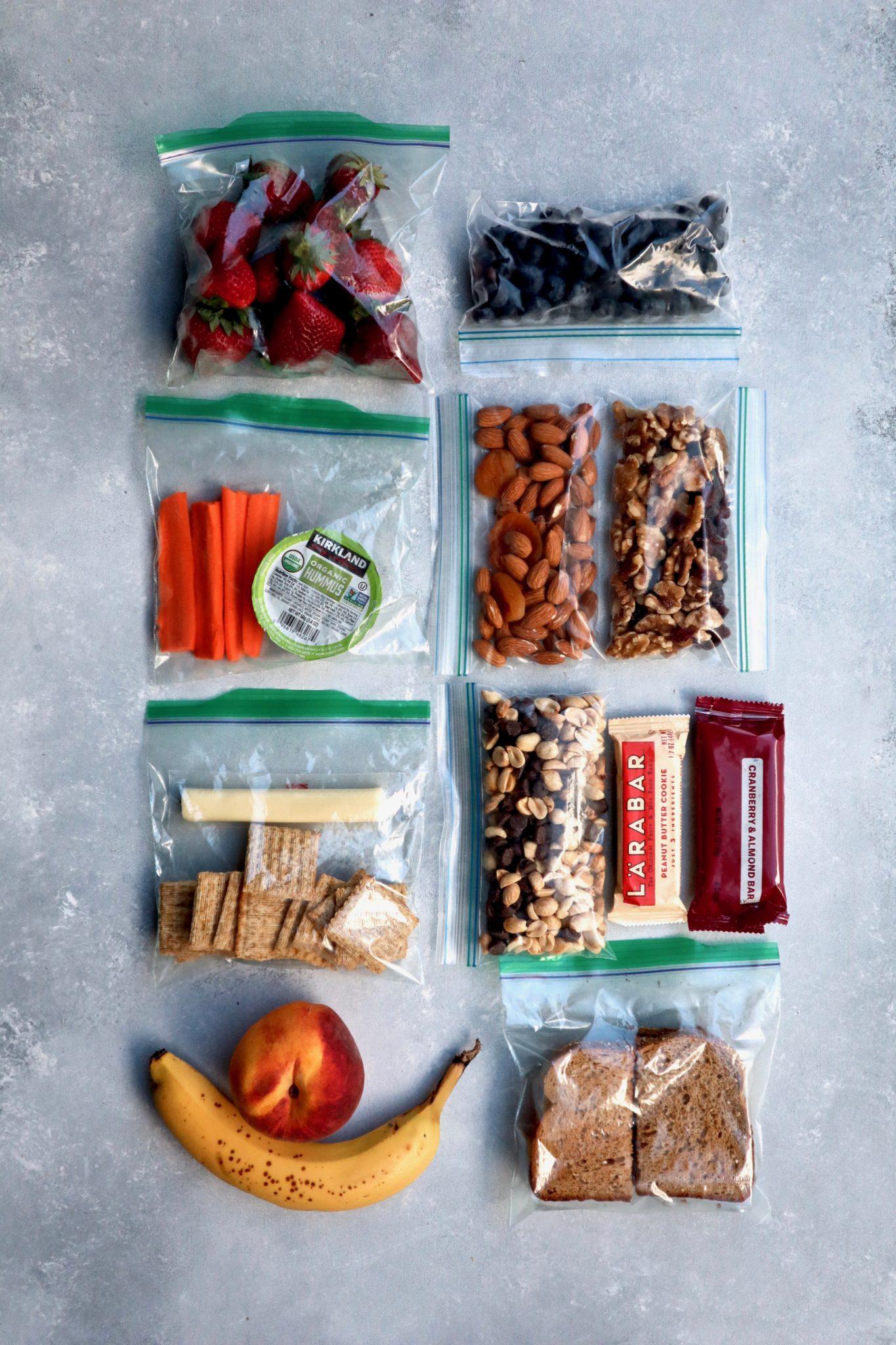 Nutrition Road Trip Snacks 101 Cait S Plate
