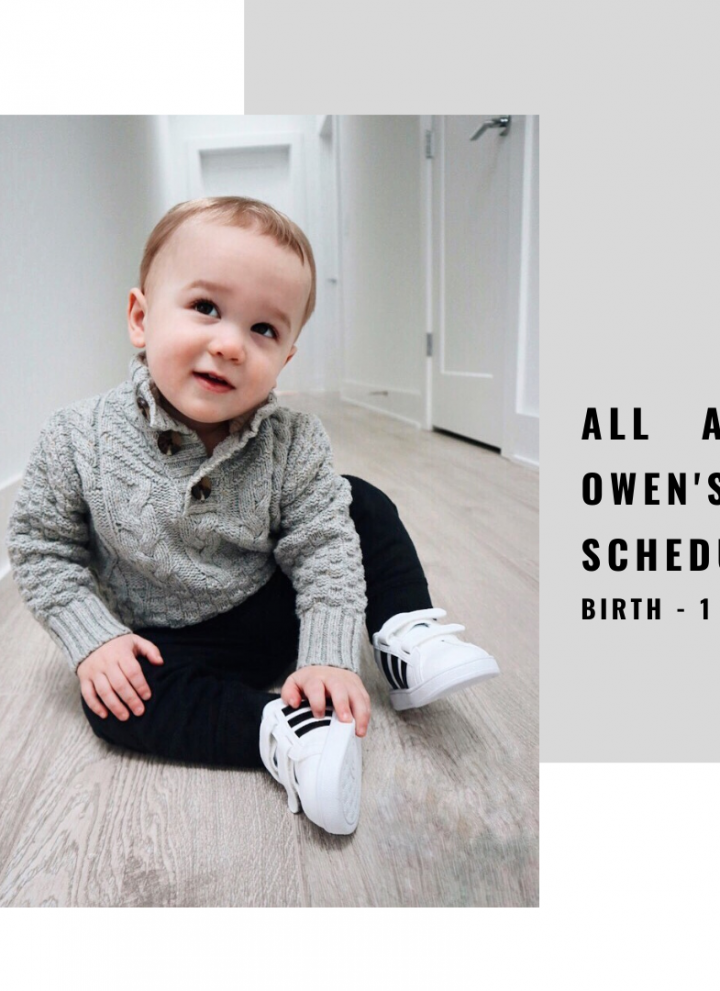 all about owen's schedule // cait's plate