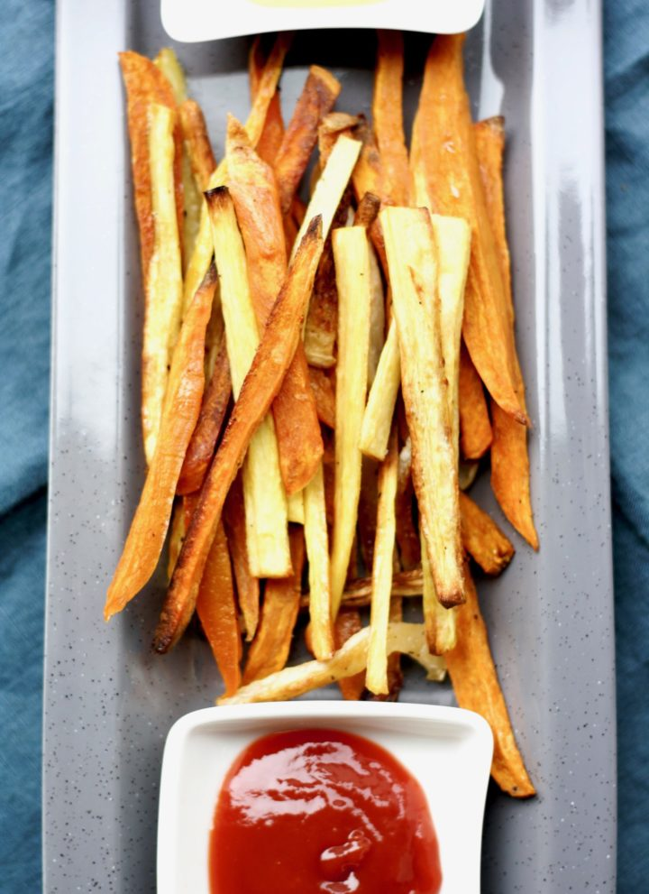 roasted root vegetable fries // cait's plate