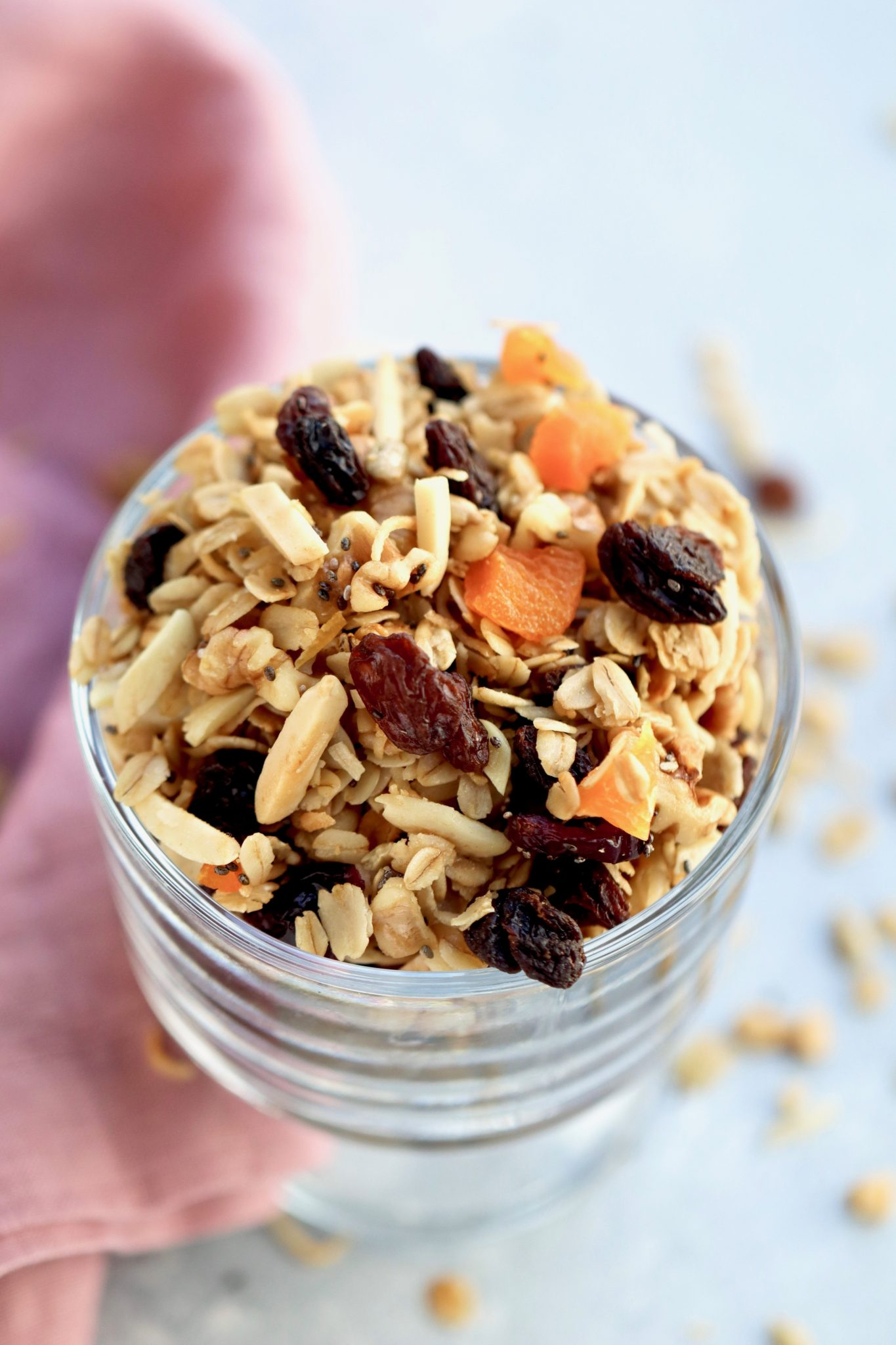 easy fruit & nut granola // cait's plate