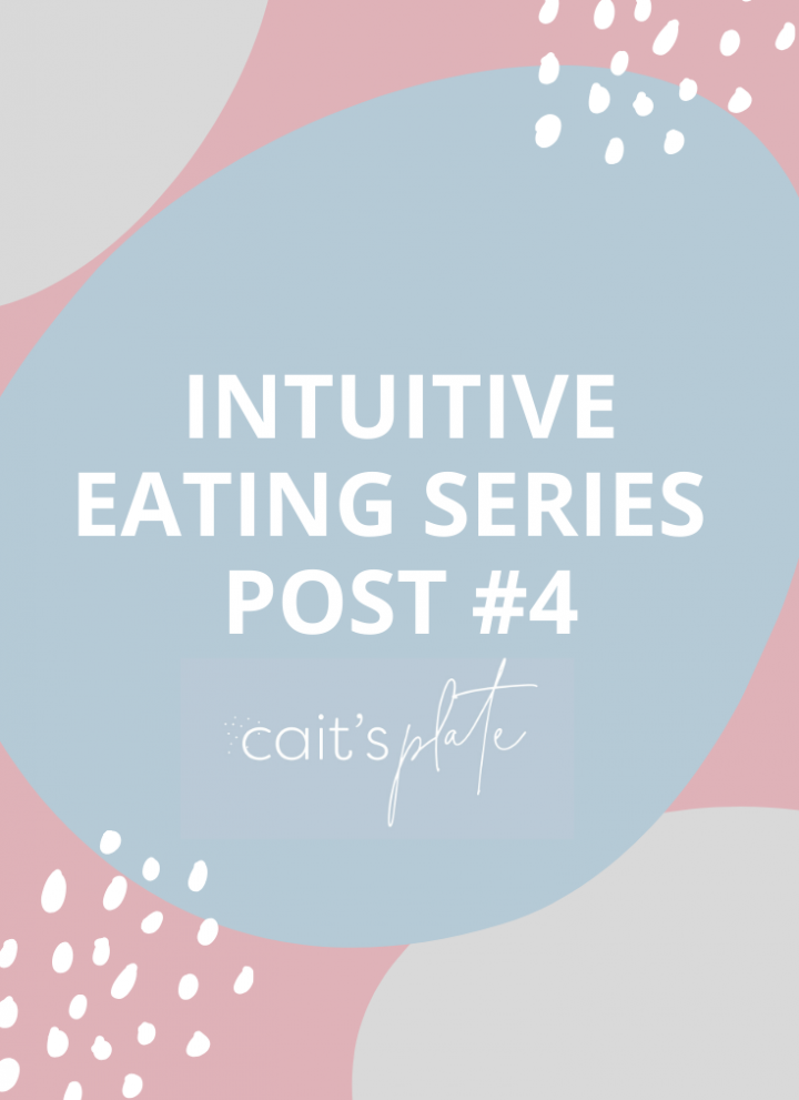 intuitive eating series // cait's plate