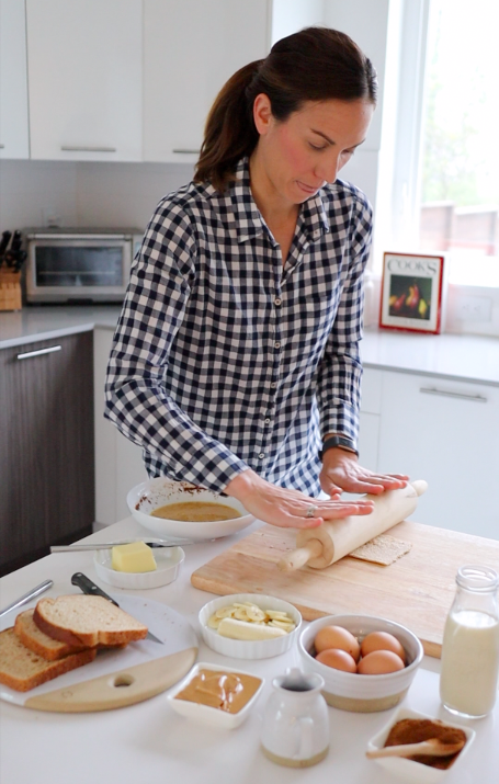 easy french toast roll ups // cait's plate