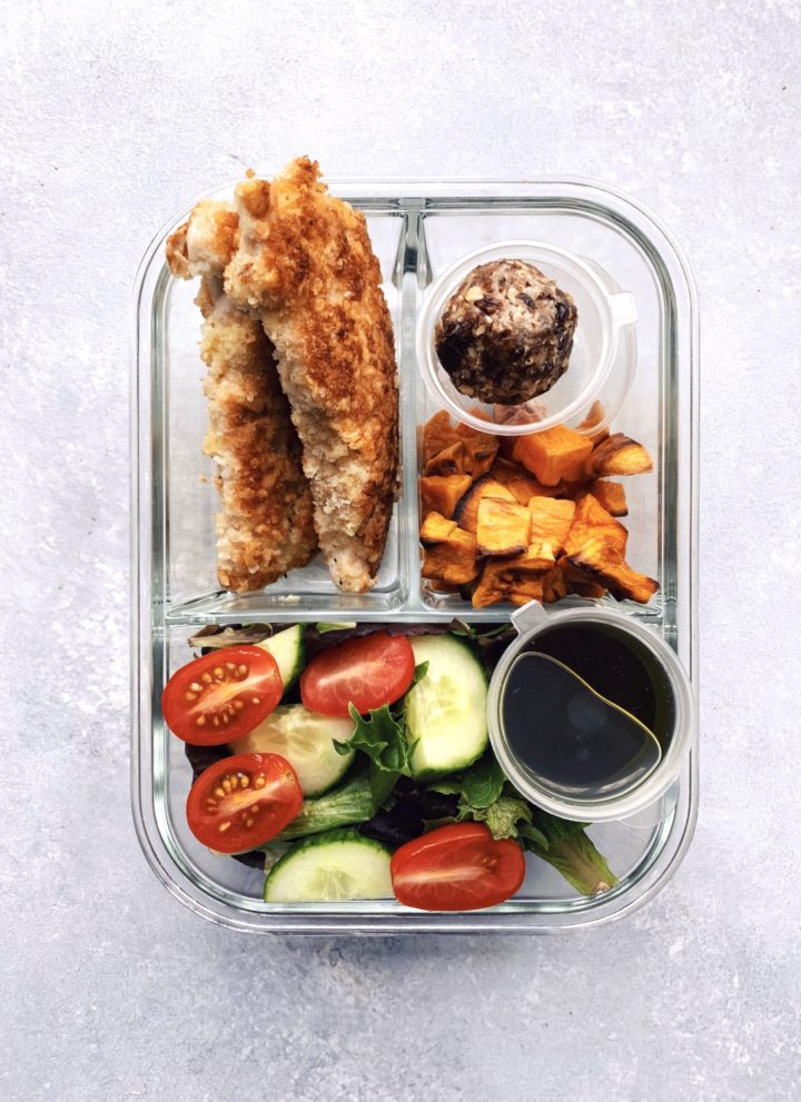 5 meal prep packable lunches // cait's plate