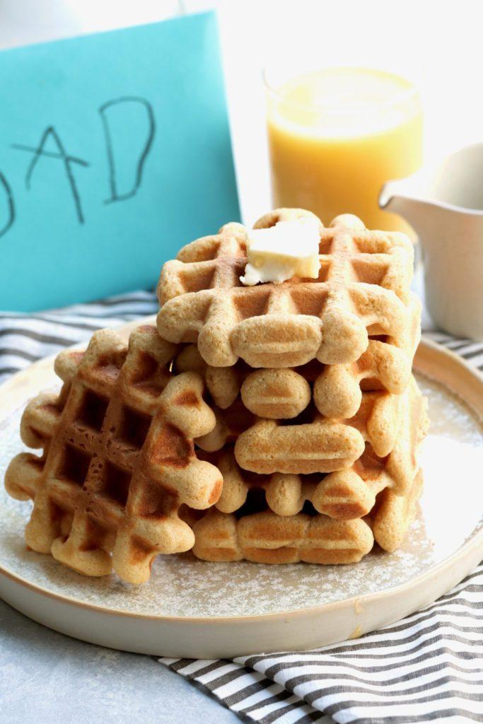 whole grain oj bliss waffles // cait's plate