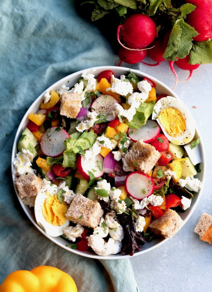 summertime confetti salad // cait's plate