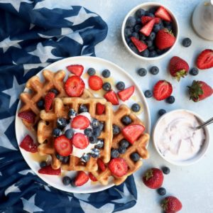 6-ingredient waffles // cait's plate