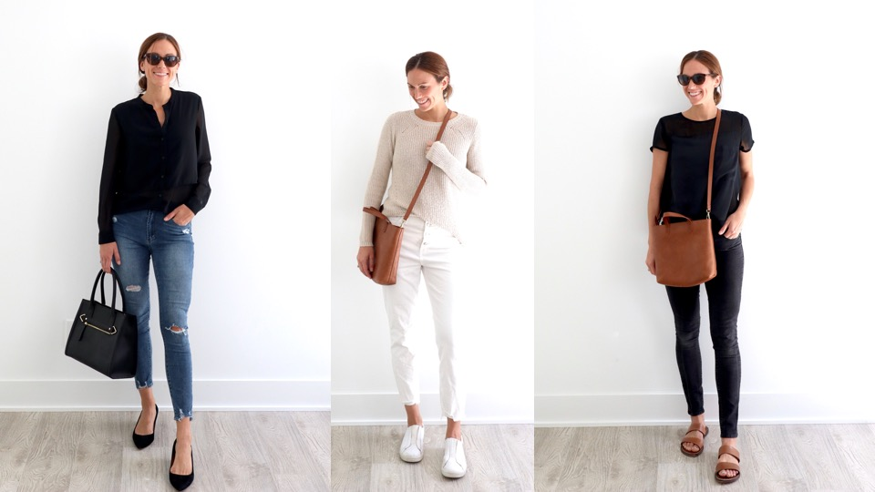 a work week's worth of easy outfits // cait's plate