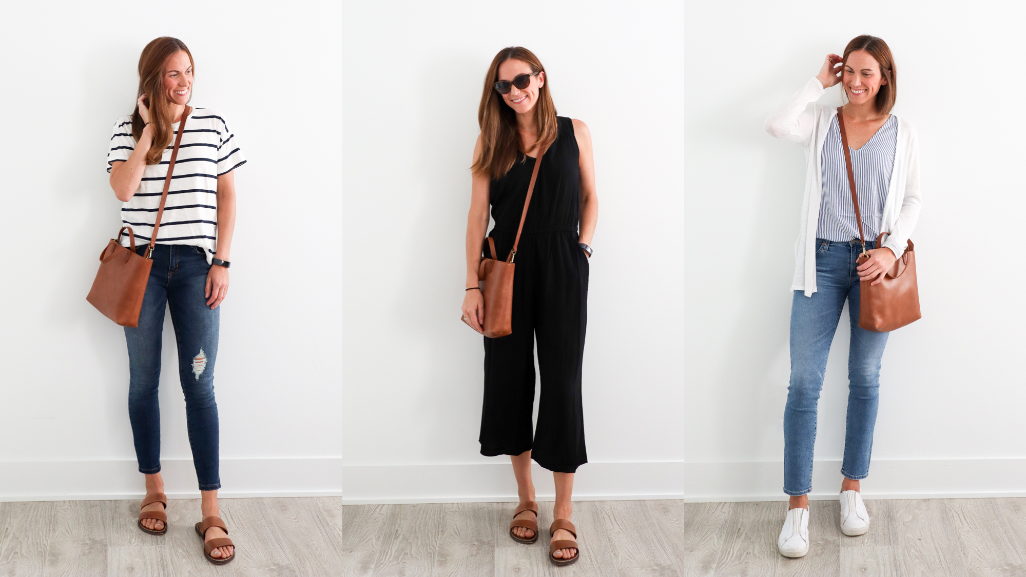 a week's worth of easy outfits // cait's plate