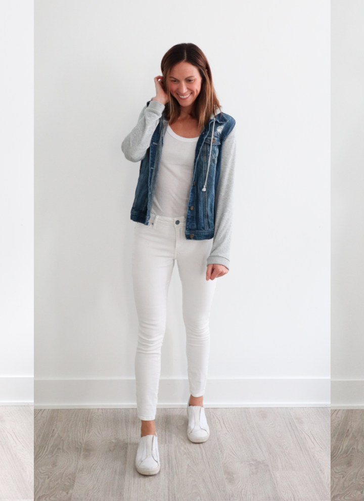 a work week's worth of easy outfits (plus 2 weekend outfits!) // cait's plate
