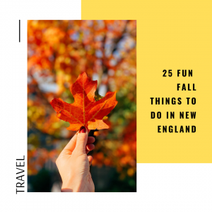25 fall things to do in New England // cait's plate