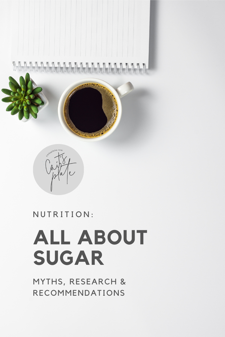 all about sugar // cait's plate