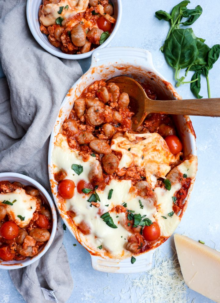 weeknight baked gnocchi // cait's plate