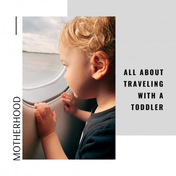 motherhood: all about traveling with a toddler // cait's plate