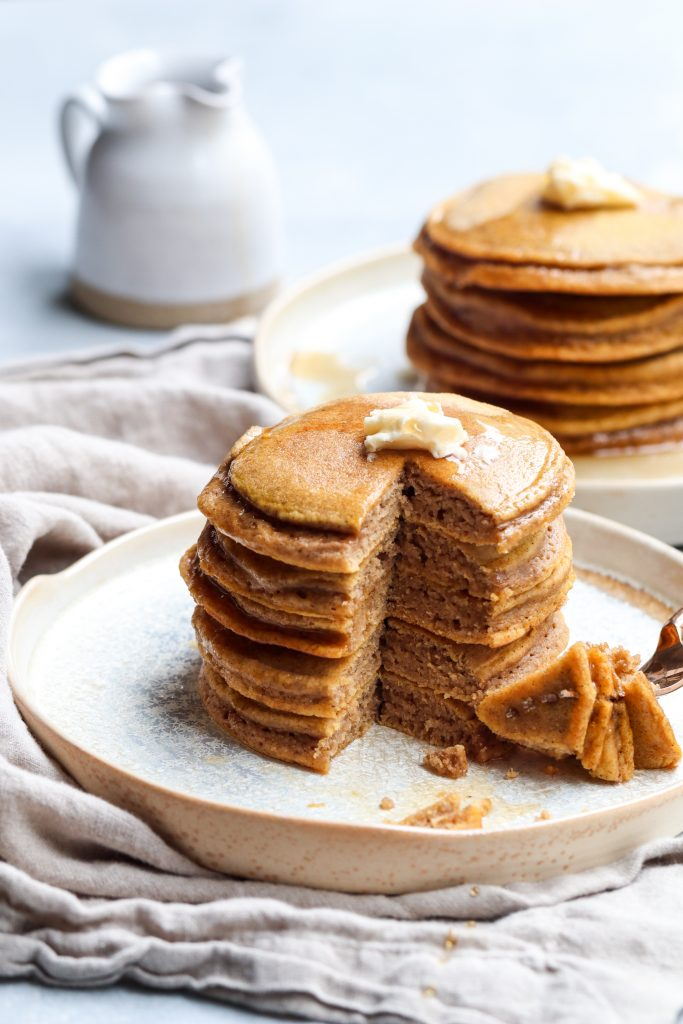 pumpkin pancakes // cait's plate