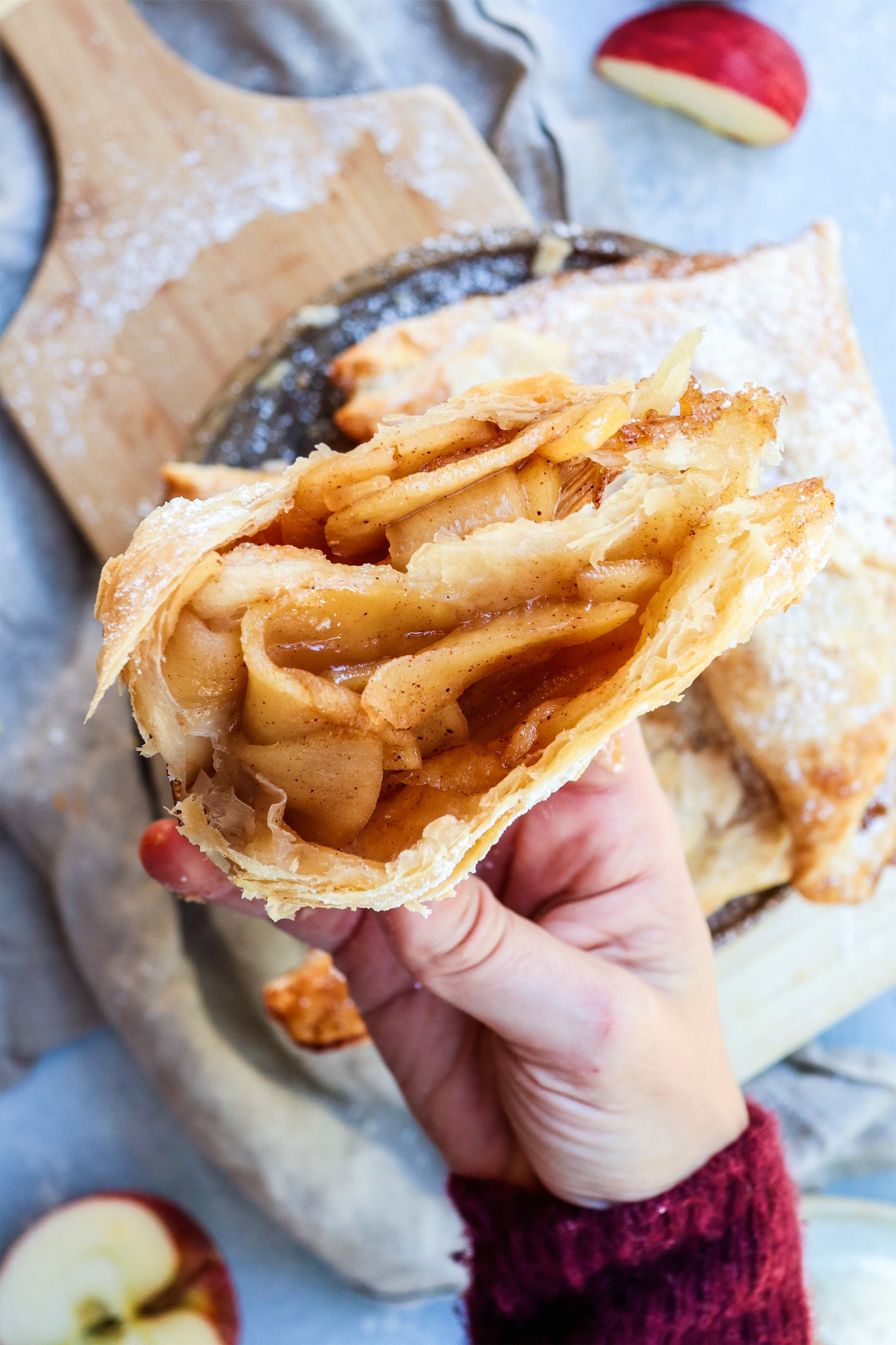 easy apple turnovers // cait's plate