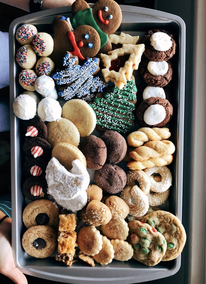favorite holiday cookies // cait's plate