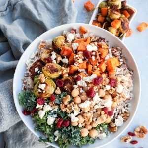 warm harvest grain bowl // cait's plate