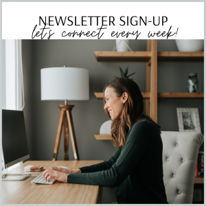 cait's plate newsletter sign-up