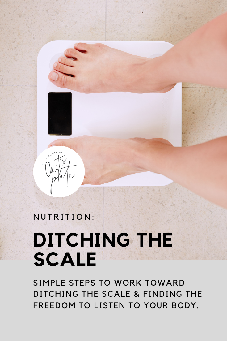 ditching the scale // cait's plate