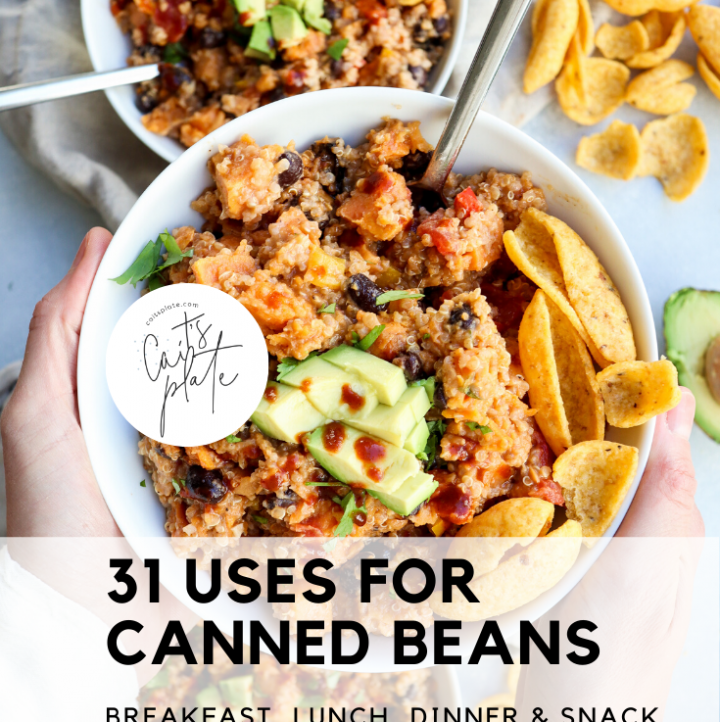 31 uses for canned beans // cait's plate