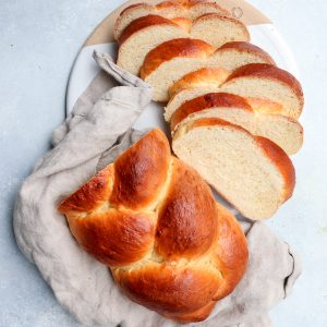 tsoureki (greek easter bread) // cait's plate