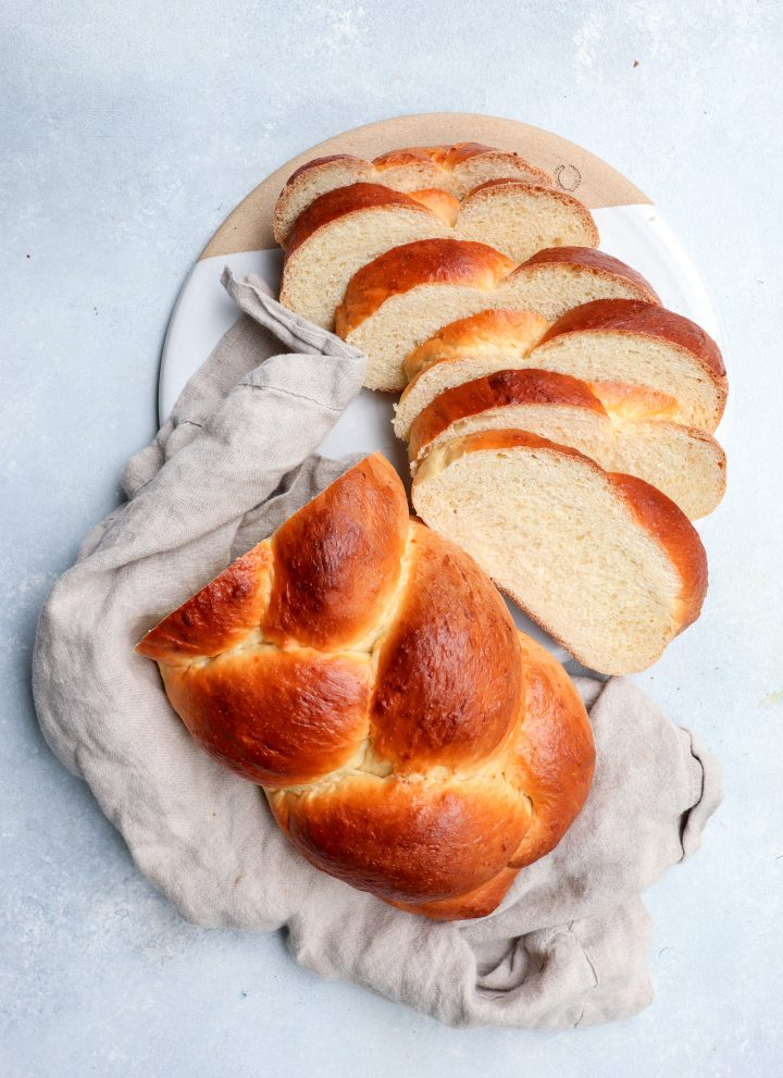 tsoureki (greek easter bread) // cait's plate