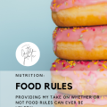 can food rules be helpful? // cait's plate