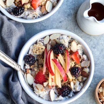 breakfast museli // cait's plate