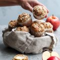 rustic apple muffins // cait's plate